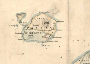 Fig. H2.5. Bald's map of Pabbay, Harris, 1804-5 (EMS.s.646, courtesy of The Trustees of the National Library of Scotland) - click for a larger image